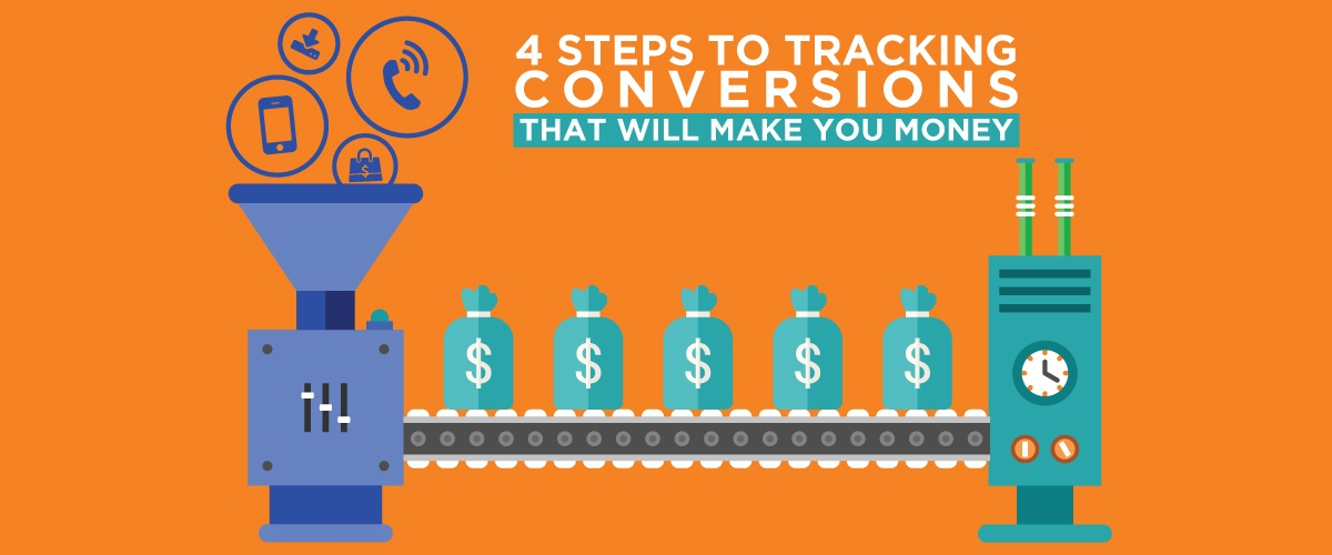 4 Steps to Tracking Conversions that will Make you Money