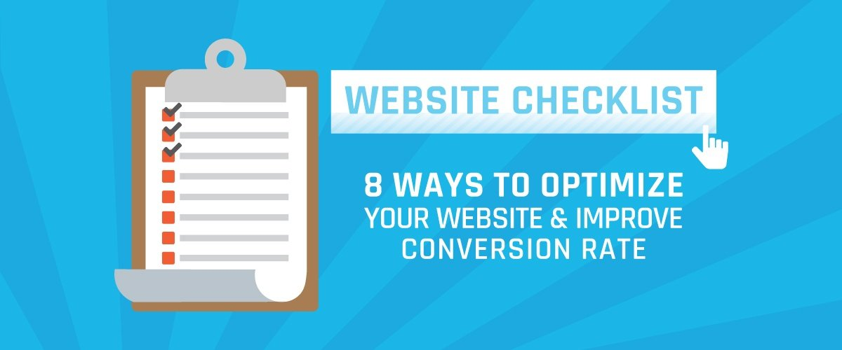 8 Ways to Optimize Your Website and Improve Conversion Rates